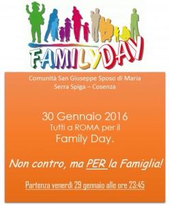 Fam Day 30gen