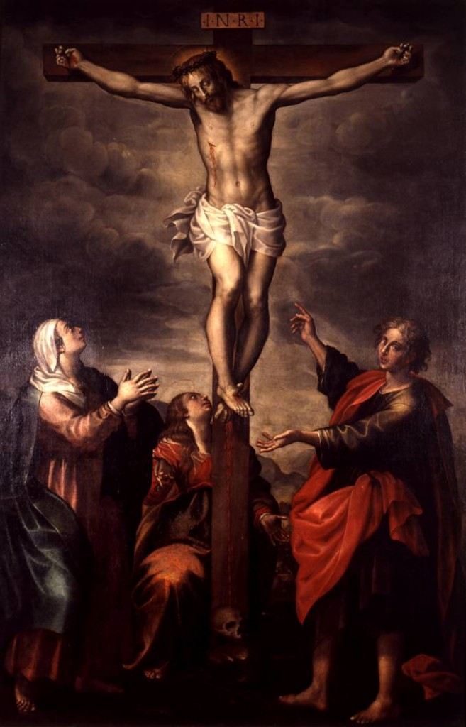 Pier Antonio Bernabei_Roma 1567 – 1630_Il Crocifisso, la Vergine e i santi, Pinacoteca Stuard, Parma