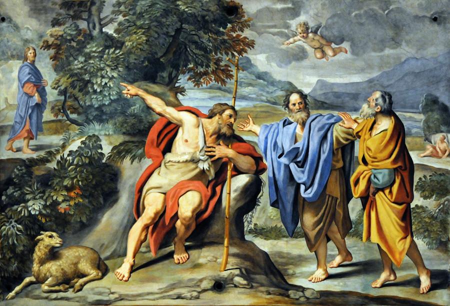 ECCE AGNUS DEI  di Domenico Zamperi detto il Domenichino