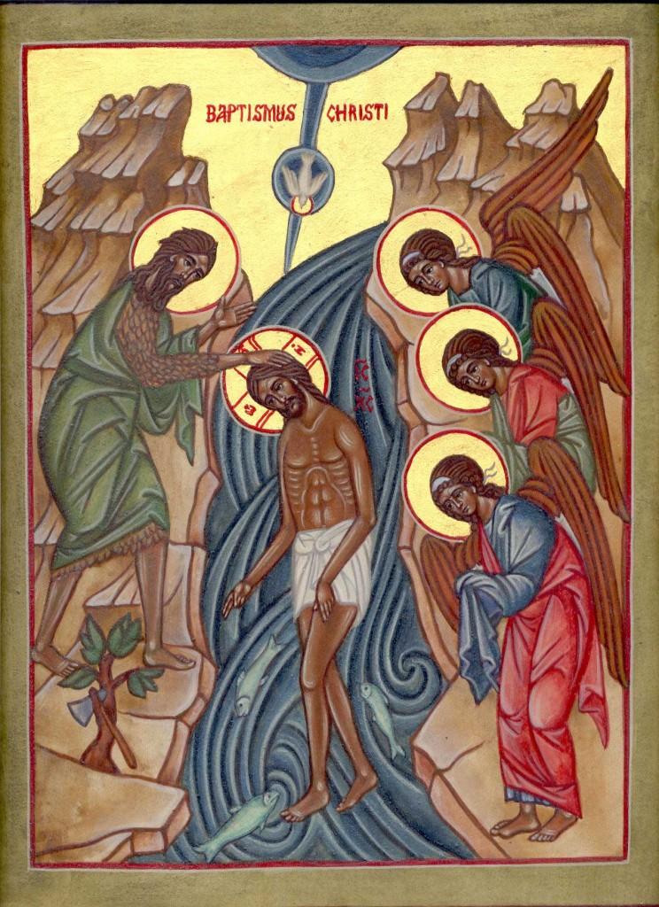 Battesimo di Nostro Signore Gesù Cristo di Cristina Cappello www.mirabileydio.it/