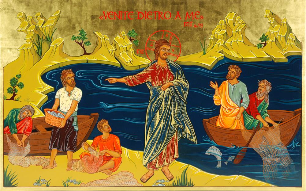 La chiamata dei discepoli   www.piccoloeremodellequerce.it