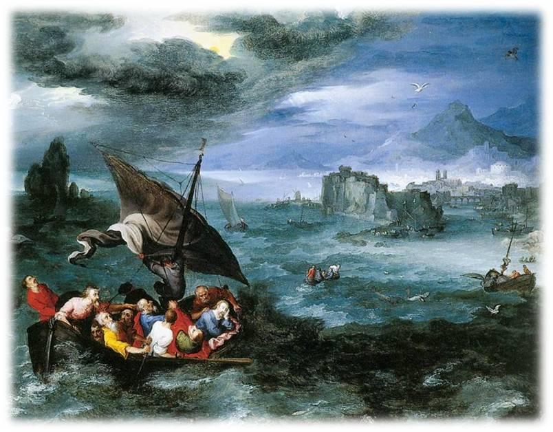 barca tempesta