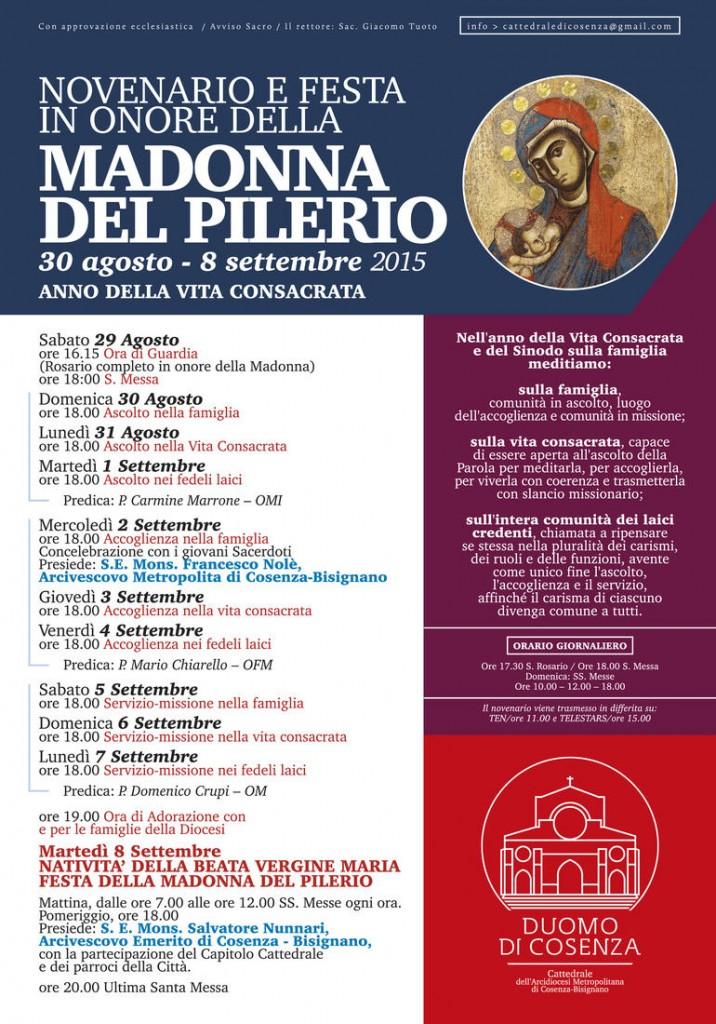 manifesto madonna pilerio 2015 FINALE
