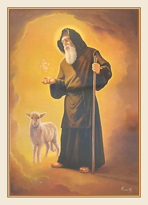Risultati immagini per san francesco paola agnellino