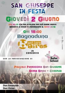 Locandina - San Giuseppe in festa-01