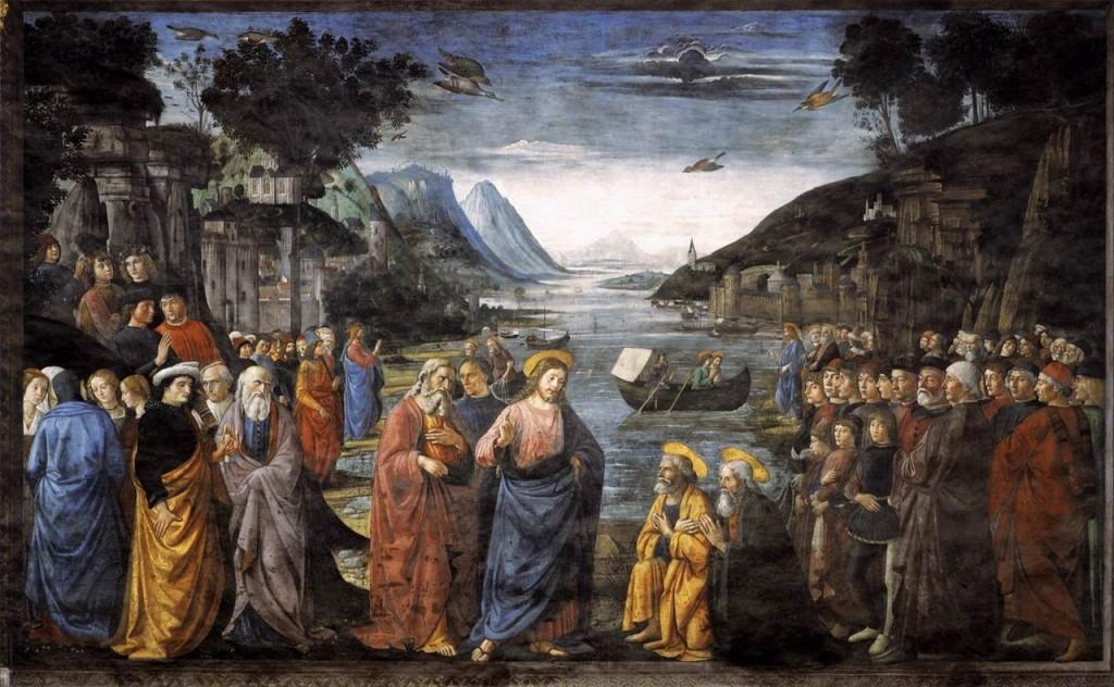 Ghirlandaio, Vocazione dei primi apostoli