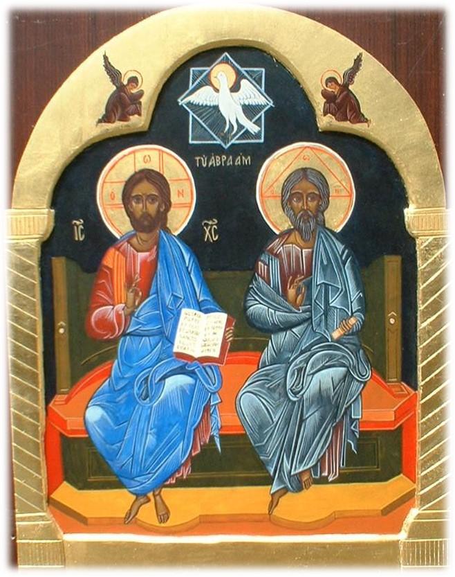 SANTISSIMATRINITA -  Fonte: http://www.iconerp.altervista.org/scene-e-feste/ss-trinita/