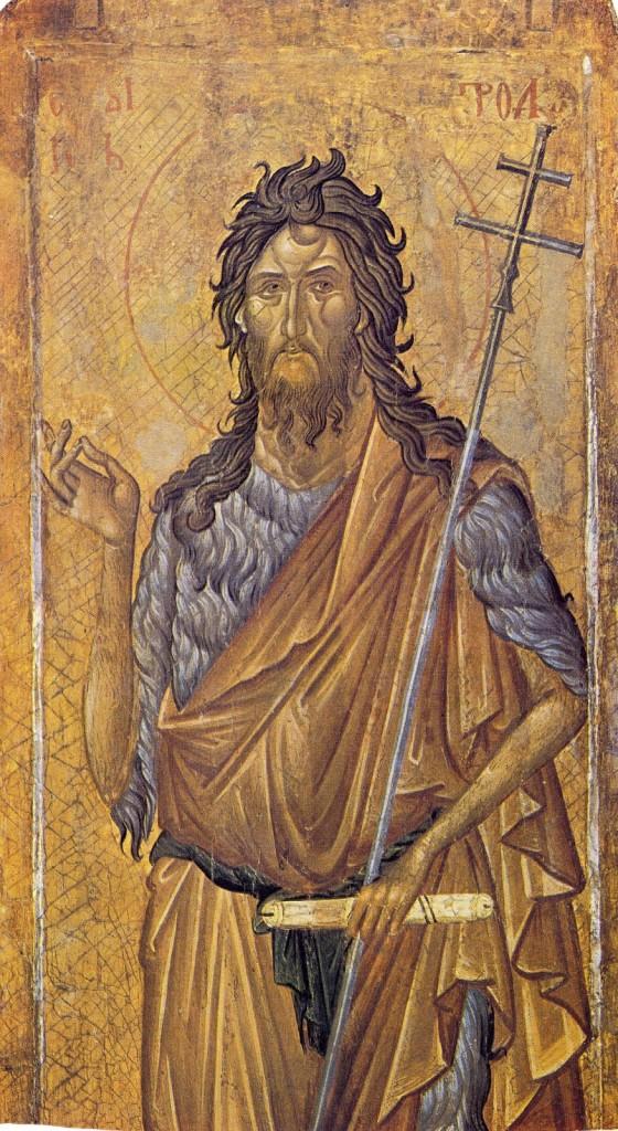 Icona di S. Giovanni Battista, Monastero di Visovi Decani – Serbia (XIV sec.)