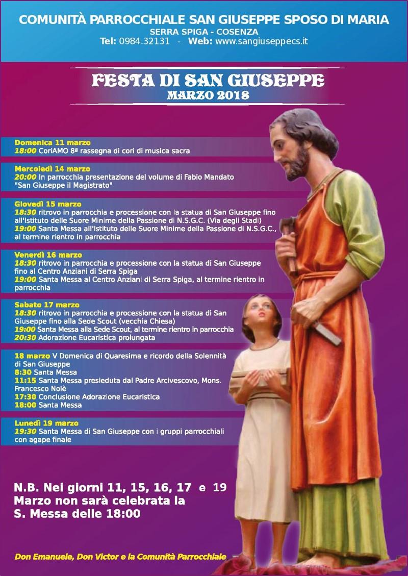 Festa di San Giuseppe 2018