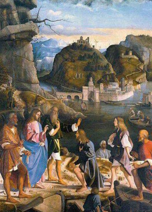 Vocazione dei figli di Zebedeo, Marco Basalti, 1510, Gallerie dell'Accademia, Venezia