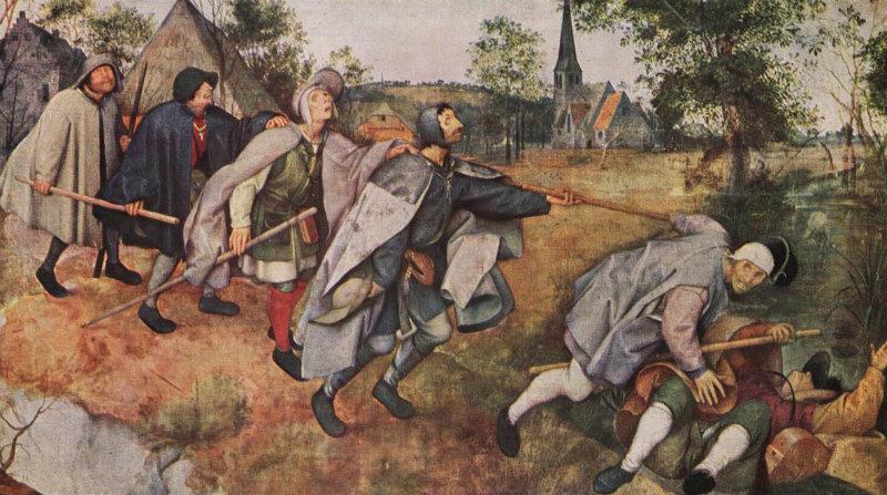 Peter Bruegel il Vecchio, La parabola dei ciechi (1568)