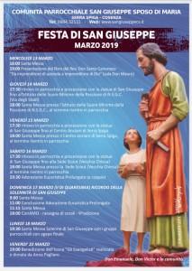Festa di San Giuseppe 2019