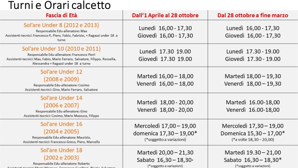 Orari calcetto 2019_2020 v6 - FINALE
