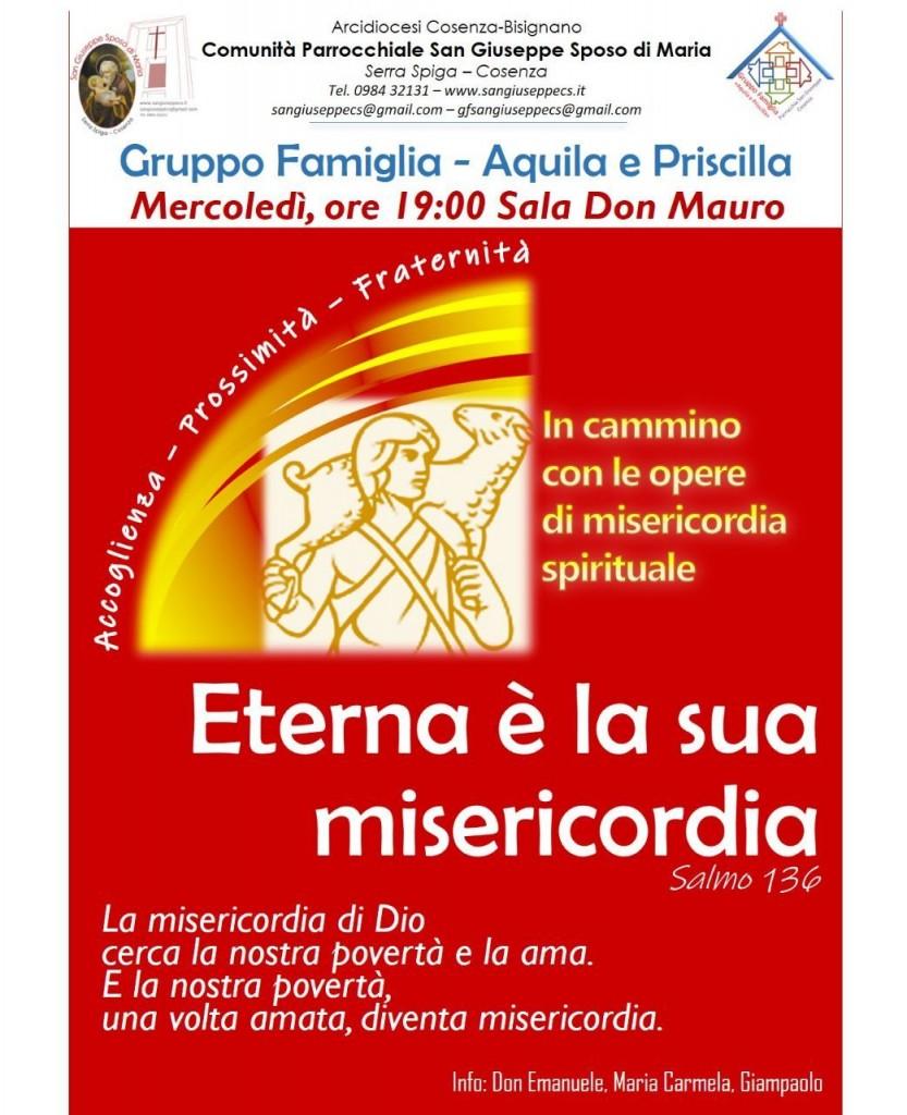 """Gruppo Famiglia """"Aquila e Priscilla"""" 2019-2020"""