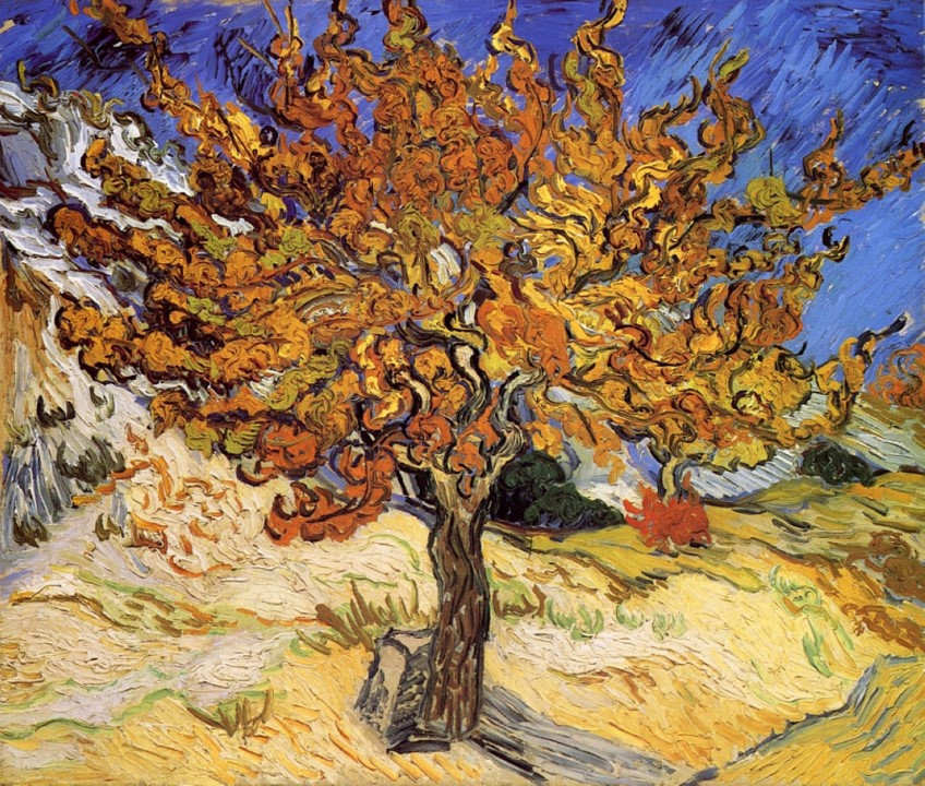 Vincent Van Gogh, L'albero di gelso, 1889, Norton Simon Museum of Art, California