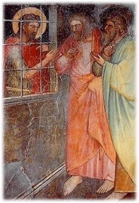 Giusto de' Menabuoi sec. XIV, San Giovanni Battista in carcere