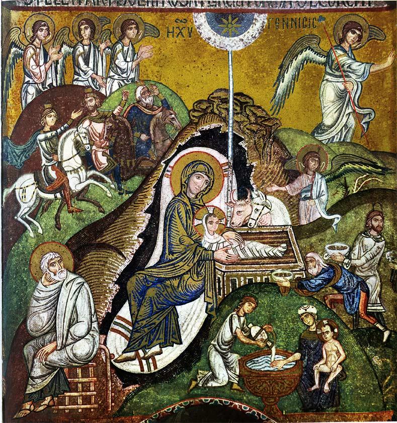 Icona della Natività di Gesù | Cappella Palatina | Palermo