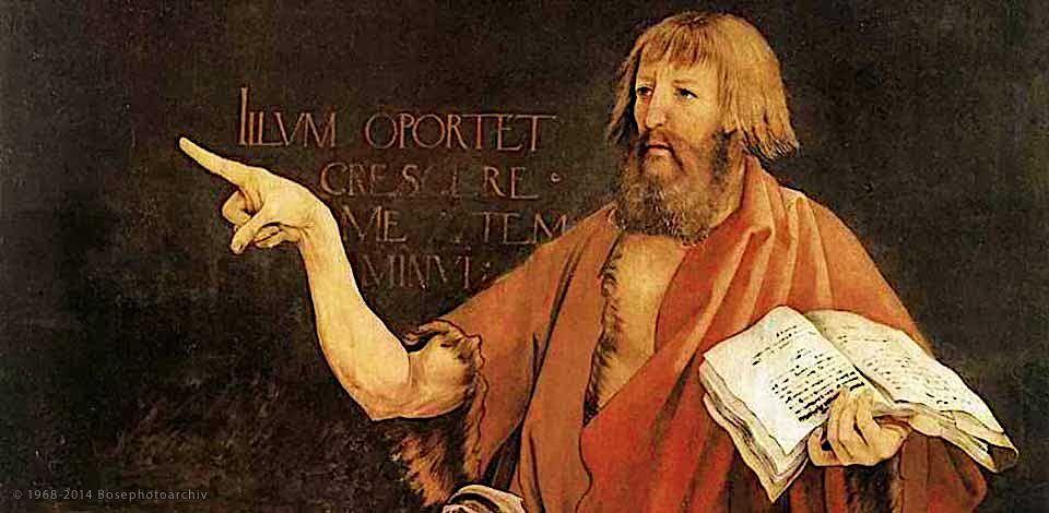 Mathis Gothart Nithart (Grünewald), particolare dell'altare di Isenheim, tra il 1512 e il 1516.