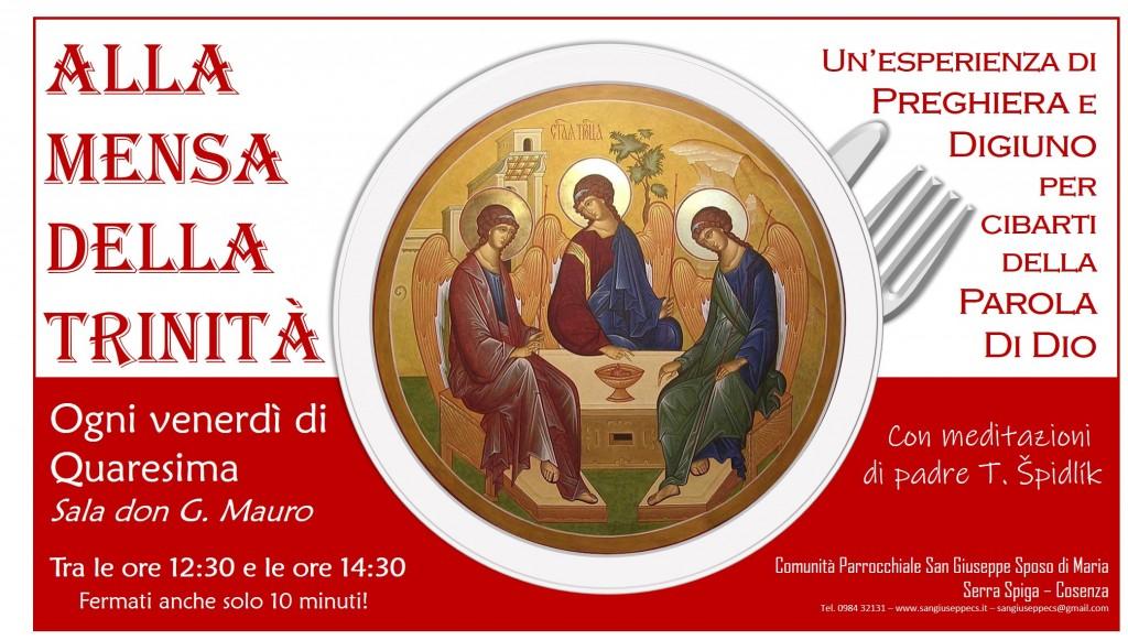 Alla mensa della Trinità