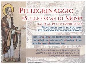 """Pellegrinaggio """"Sulle orme di Mosè"""""""