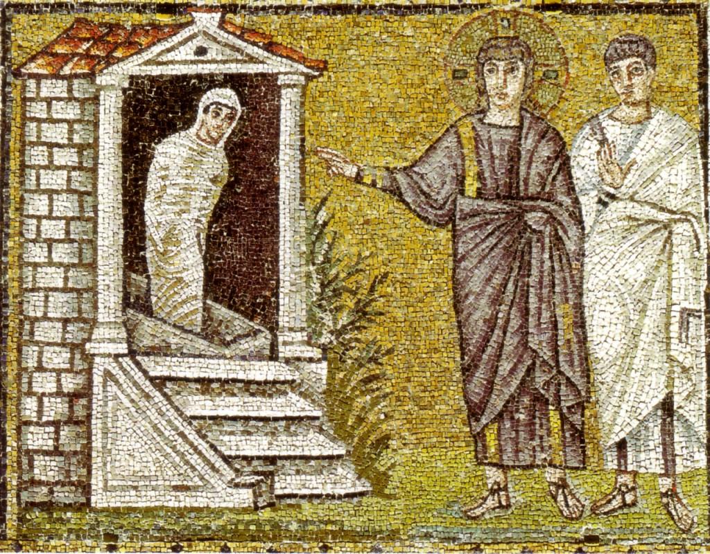 Basilica di Sant'Apollinare Nuovo, Ravenna - Resurrezione di Lazzaro