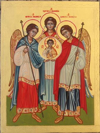 Risultato immagini per Santi arcangeli Michele, Gabriele, Raffaele