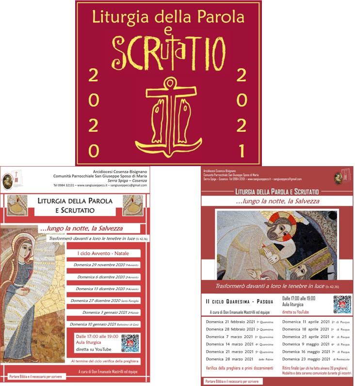 Liturgia della Parola e Scrutatio - 2020-2021