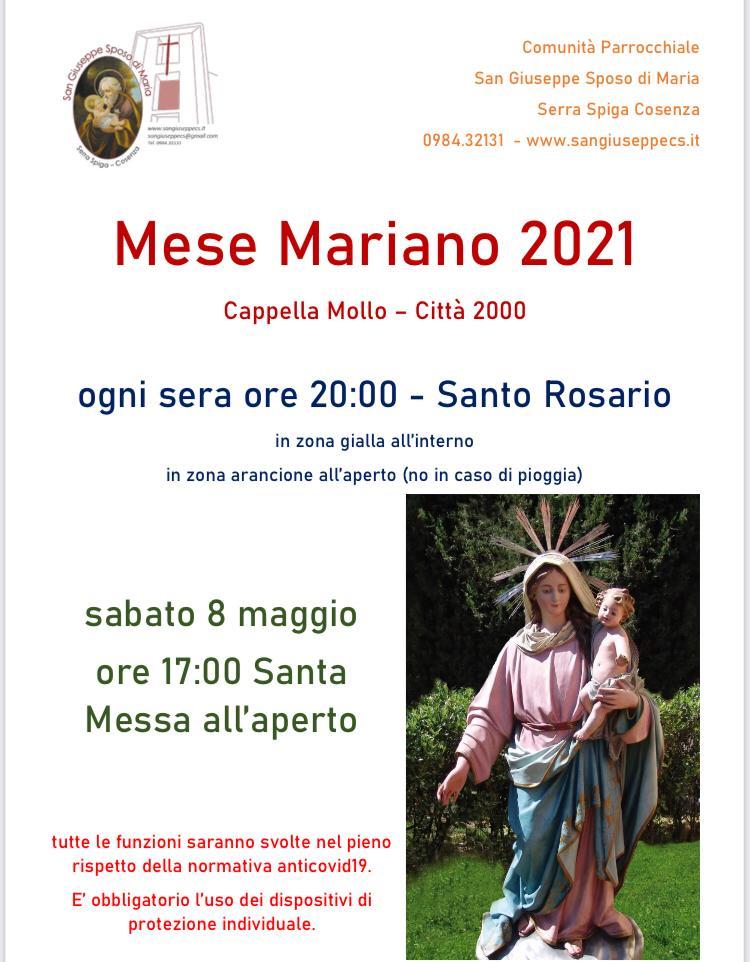 Mese Mariano 2021