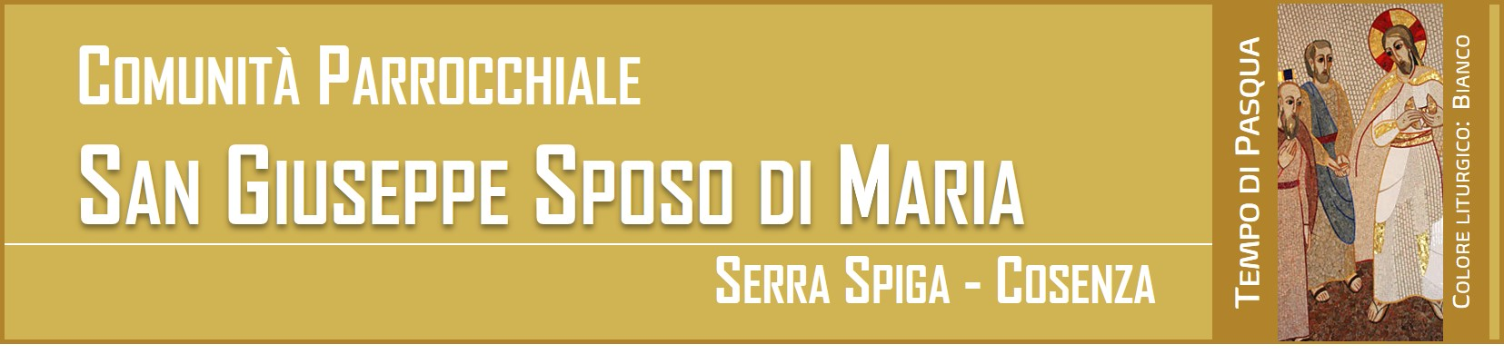Logo for Comunità Parrocchiale San Giuseppe Sposo di Maria - Serra Spiga Cosenza